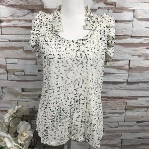 Converse One Star Sleeveless Blouse Sz S (O36)